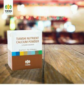 Tianshi Nutrient Calcium Powder Peninggi Badan Tulang sehat