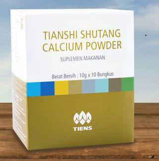Shutang Calcium Powder Tiens Kalsium Diabetes Tianshi