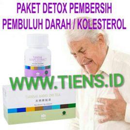 Paket Detox Pembersih Pembuluh Darah dan Kolesterol Tiens | Tianshi Atasi Darah Tinggi