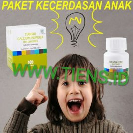 Paket Kecerdasan Anak Kalsium Zinc Tiens | Tianshi Perkembangan Otak Anak