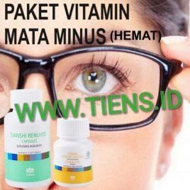 Paket Vitamin Mata Minus Hemat Renuves dan Vitaline Tiens | Mata Sehat