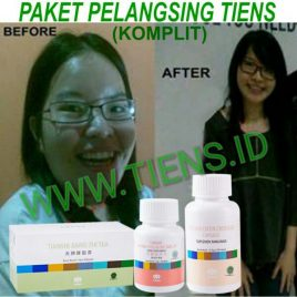 Paket Pelangsing Badan Tiens | Diet Tepat | Chitosan - Jiang Zhi Tea - Double Cellulose|Melangsingkan Badan | Tianshi