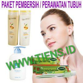 Paket Pembersih dan Perawatan Tubuh Tiens | Tianshi Shampoo Conditioner dan Pasta Gigi Herbal