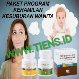 Paket Program Kehamilan dan Kesuburan Wanita Kalsium Zinc Vitaline Tiens | Tianshi