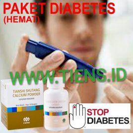 Paket Diabetes Hemat Kalsium Shutang dan Chitosan Tiens | Tianshi Mengatasi Kencing Manis
