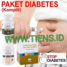 Paket Diabetes Komplit Tiens | Tianshi Chitosan Kalsium Shutang dan Diacont