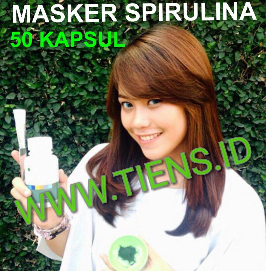 Masker Spirulina Tiens 50 Kapsul
