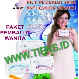 Paket Pembalut Wanita Airiz Tiens Day Night dan Pantyliner Herbal Alami