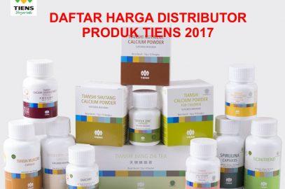 Daftar Harga Distributor Atau Member Produk Tiens