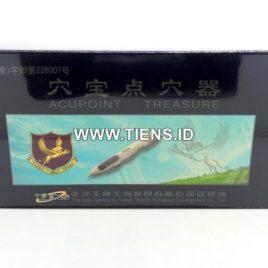 Accupoint Treasure Tiens Double Pen | Alat Akupuntur Tiens 2 Pen Dengan Batu Giok