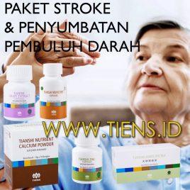 Paket Stroke Dan Penyumbatan Pembuluh Darah Tiens