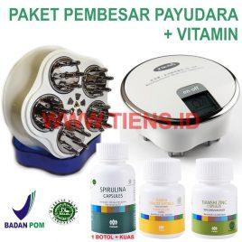 Paket Payudara MHCA Tiens Lengkap Vitamin Spirulina 100K | Pengencang Payudara Alami Tiens