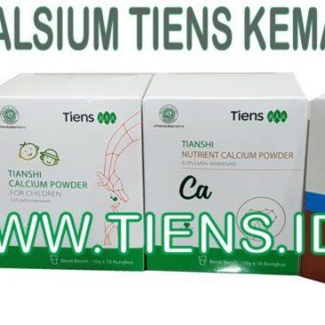 Kemasan Baru Kalsium Tiens Dewasa Dan Anak 2019