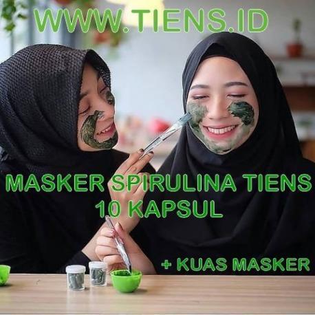 MASKER SPIRULINA 10 KAPSUL TIENS (Copy)