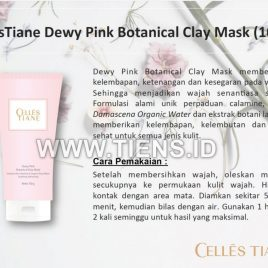 Celles Tiane Dewy Pink Botanical Clay Mask Tiens