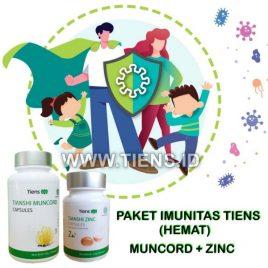 Paket Imunitas Tiens Hemat | Muncord Zinc Tiens
