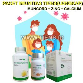 Paket Imunitas Tiens Lengkap | Muncord Zinc Calcium Tiens